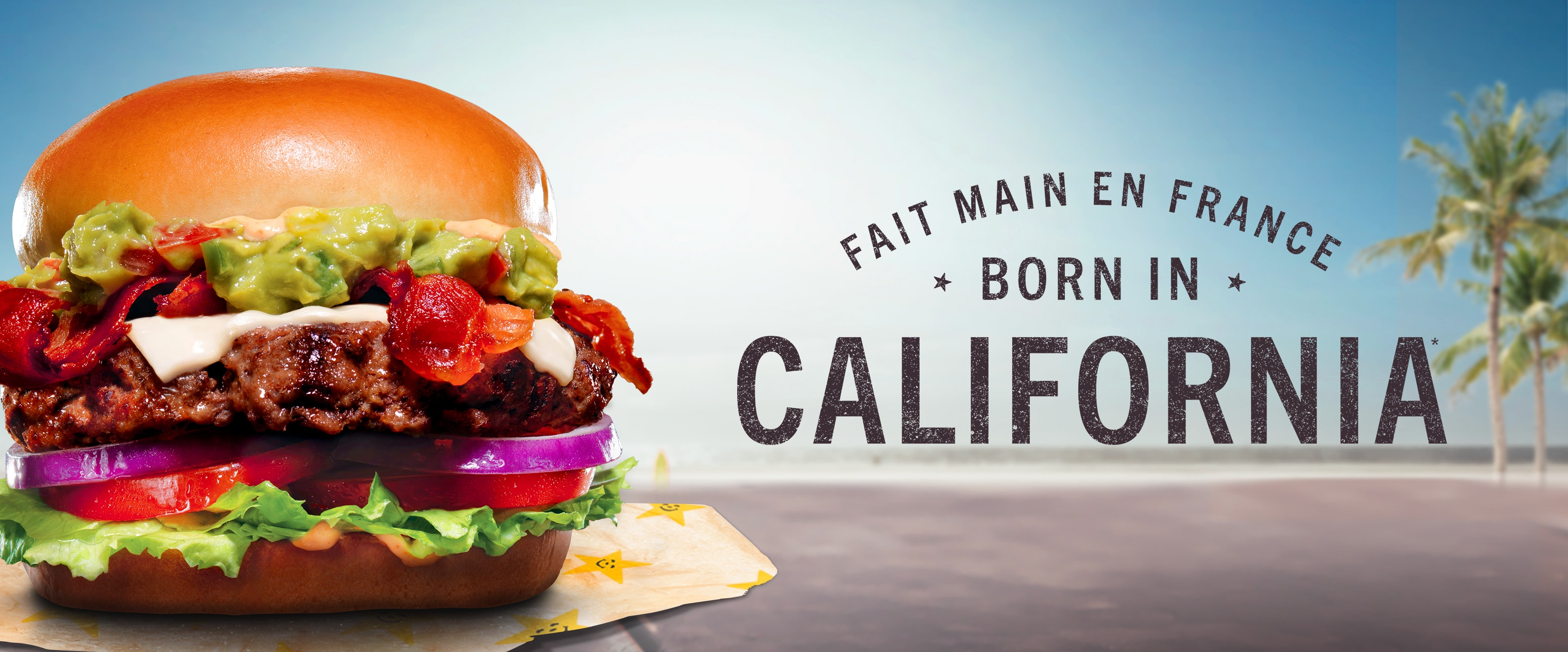 Fait main en France * Born in * CALIFORNIA